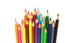 Free Colored Pencils Stock Photo - 5839900