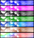 Free Psychedelic Headers Set Stock Image - 5840161