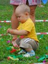 Free Baby-boy Playing Royalty Free Stock Photography - 5845607