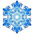 Free Big Snowflake Blue Stock Photo - 5845630