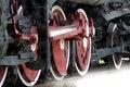 Free Wheel Of The Vapour Train. Stock Photos - 5846483