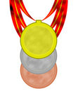 Free Olimpic Medals Royalty Free Stock Images - 5847219
