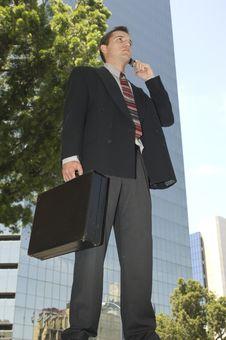 Aspiring Businessman Royalty Free Stock Images