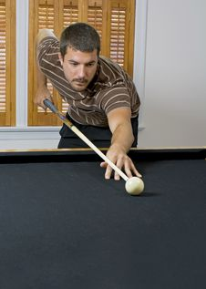 Free Game Of Pool Stock Photography - 5840902