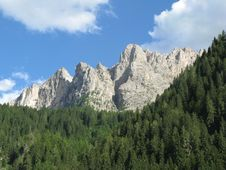 Free Dolomite Mountains Stock Photography - 5840932