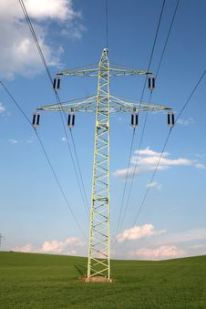 Free Transmission Tower Stock Photo - 5841020