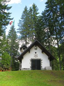 Free Little Chapel In The Wood Stock Image - 5841041