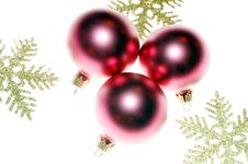 Close-up Of Christmas Decoration Stock Image