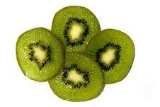 Free Kiwi Slices Stock Images - 5841674