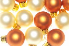Close-up Of Christmas Decoration Royalty Free Stock Images