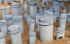 The Ancient Cemetery Stock Photos