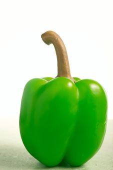 Free Green Pepper Royalty Free Stock Photography - 5842107