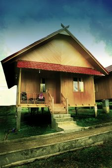 Free Pagaralam House Royalty Free Stock Photography - 5842717