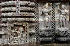 Konark Temple Of Orissa-India. Stock Images