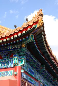 Free Chinese Building Royalty Free Stock Photography - 5842897