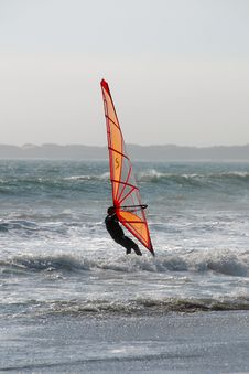 Free Windsurfing Royalty Free Stock Photography - 5843057