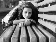 Free Girl In A Park Royalty Free Stock Images - 5843579