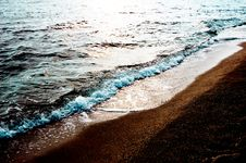 Free Sea And Sand Royalty Free Stock Photos - 5843878