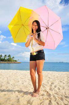 Free Fun At The Beach 14 Royalty Free Stock Image - 5844386