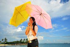 Free Fun At The Beach 15 Royalty Free Stock Photos - 5844448