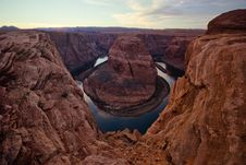 Splendor Horseshoe Bend Royalty Free Stock Photography