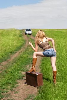 Free Hitchhiker Stock Image - 5844521