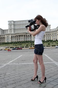 Free Reporter Royalty Free Stock Photography - 5844657