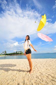 Free Fun At The Beach 21 Royalty Free Stock Photos - 5845068
