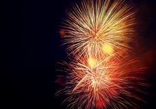 Free Holiday Fireworks Royalty Free Stock Photo - 5845075