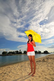 Free Fun At The Beach 26 Royalty Free Stock Photo - 5845385