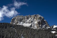 Free Selva Di Val Gardena - Saslong Royalty Free Stock Photos - 5845518