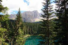 Free Green Forest,  Lake & Mountain Stock Photo - 5845840