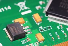 Free Electronic Components Stock Images - 5845944