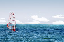Free Windsurf Royalty Free Stock Photos - 5846088