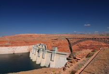 Free Dam Glen Canyon Royalty Free Stock Photography - 5846407