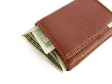 Free Purse With Money Royalty Free Stock Image - 5847006
