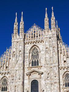 Free Gothic Duomo Of Milan Royalty Free Stock Images - 5847049