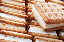 Free Cookies With Jam Stock Photo - 5847700