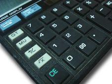 Free Calculator Royalty Free Stock Photo - 5848505