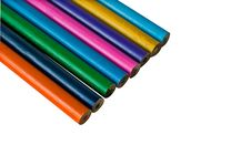 Free Set Of Color Pencils Royalty Free Stock Photos - 5849378
