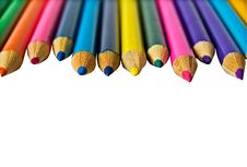 Free Set Of Color Pencils Stock Photo - 5849380