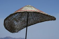 Free Beach Umbrella Parasol Royalty Free Stock Photos - 5849798