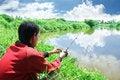 Free Fishing Outdoor Hobby Activity Royalty Free Stock Image - 5852016