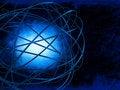 Free Blue Explosion Stock Photo - 5856160