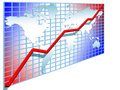 Free 3d Line Chart Stock Image - 5856311