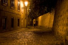 Free Night Prague Scenery Stock Image - 5850611