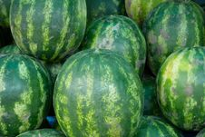 Free Watermelons On The Market Stock Photos - 5850693