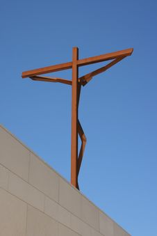 Free Jesus Christ Crucified Royalty Free Stock Photography - 5851407