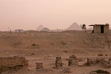 Free Pyramids In The Distance Stock Photography - 5851702