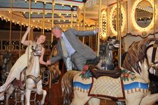 Free Merry-Go-Round Romance Royalty Free Stock Photos - 5851828